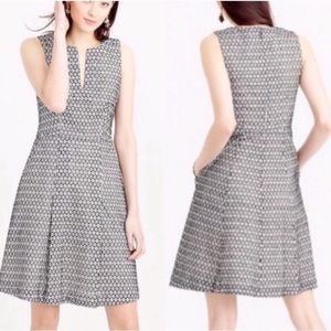 JCrew. Triangle eyelet cotton dress. Size 2.